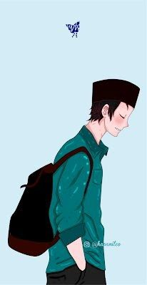 Cartoon Photo, Cartoon Boy, Cartoon Images, Wallpaper Keren, Iphone Wallpaper, Best Facebook Profile Picture, Muslim Images, Muslim Pictures, Islamic Pictures