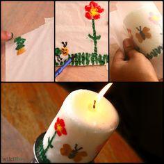 How to Make Fingerprint Candles!
