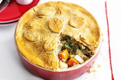 For those of us who can't eat gluten, try this great makeover of a classic chicken pie recipe! http://www.taste.com.au/recipes/23298/gluten+free+chicken+and+vegetable+pie #glutenfree #pie
