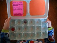 Make Your Own Math Games: Egg-O!