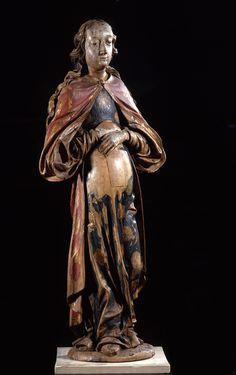 Madonna armoire Scuola renano-fiamminga, fine XV secolo Legno policromo Musei Civici di Reggio Emilia