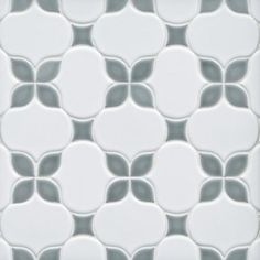 Iris Dust Polished Porcelain Mosaic - 12 x 12 - 100566421 | Floor and Decor