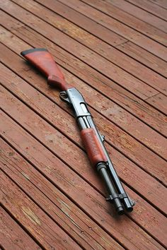 The Remington 870 is the most popular pump-action shotgun ever made.