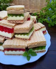 Domowa Cukierenka - Domowa Kuchnia: wafle z galaretką