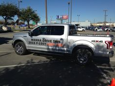 Test drive the 2015 all aluminum body Ford F150