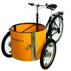 Cargo Bike- or cheap recycled version- use a child bike trailer from craigslist!