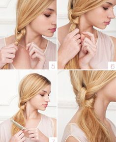 Easy and simple hair style ideas on www.ddgdaily.com