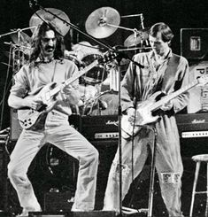 Frank Zappa and Adrian Belew Adrian Belew, Blue Soul, Frank Vincent, Soul Jazz, Image Cover, Iggy Pop, Music Pics, Frank Zappa, Rock Legends