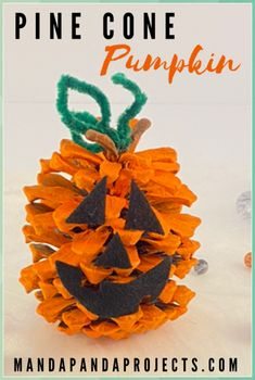 Halloween pine cone pumpkin - Pine Cone Crafts for Kids #Halloween #pine #cone #pumpkin #Pine #Cone #Crafts #for #Kids Pinecone Crafts Kids, Pine Cone Crafts, Halloween Crafts For Kids, Cute Halloween, Easy Toddler Crafts, Toddler Activities, Craft Stash, Diy Craft Projects, Diy Crafts