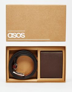 ASOS+Leather+Gift+Set+With+Wallet+and+Smart+Belt