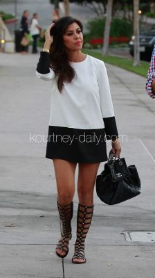 Imagine this with above the knee, black leather heeled boots or booties..an outfit to die for