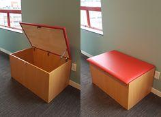 YHA Hostels Auckland - Custom Install #storage #seat #bfg www.bfg.co.nz