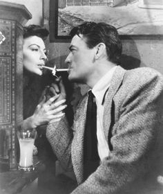 "Ava Gardner and Gregory Peck in ""The Snows of Kilimanjaro"" (Henry King, 1952)"
