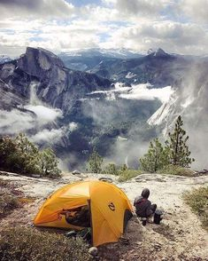 Bucket list: Camping in the mountains