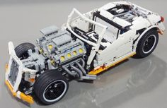 Lego George Barris Hot Rod Crowkillers Technic