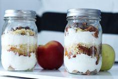 6 przepisów na zdrowe posiłki do pracy/szkoły! - Codziennie Fit 2 Ingredients, Body Care, Cheesecake, Lunch Box, Food And Drink, Pudding, Jar, Healthy Recipes, Healthy Food