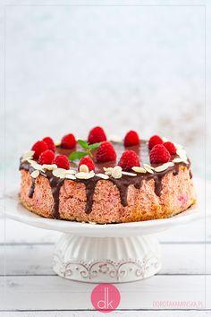 Sernik z burakami Tiramisu, Raspberry, Cook, Fruit, Ethnic Recipes, Raspberries, Tiramisu Cake