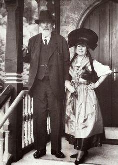 Prinz Franz and wife Elisabeth von Gutmann