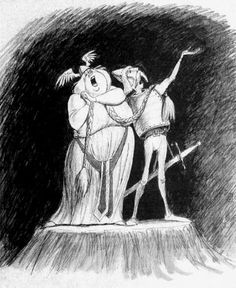 Opera Couple concept art by Marc Davis.