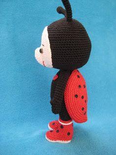 10 Beste Afbeeldingen Van Lieveheersbeestje Crochet Ladybug
