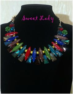 Statement #necklace https://www.facebook.com/pages/Sweet-Lady/208753725975495?ref=hl