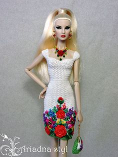 """OOAK outfit for Fashion Royalty FR2 and similar 12""""dolls from   ARIADNA STYL #ARIADNASTYL"""
