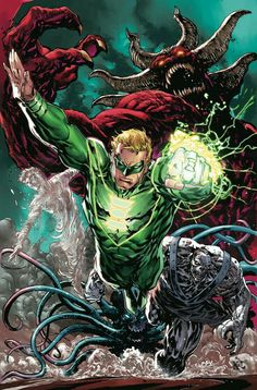 Earth 2 Lobo New Futures End Scooby-Doo Team-Up Swamp Thing Green Lantern Green Arrow Action Comics Justice League 3000 Earth World's End Comic Book Characters, Comic Character, Comic Books Art, Héros Dc Comics, Marvel Dc, Green Lantern Sinestro, Green Lantern Corps, Green Lanterns, Univers Dc