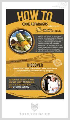 Park City Culinary Institute by Dapper Fox Design - How to Cook Asparagus    //   Website Design - Branding - Logo Design - Brand - Entrepreneur Blog and Resource