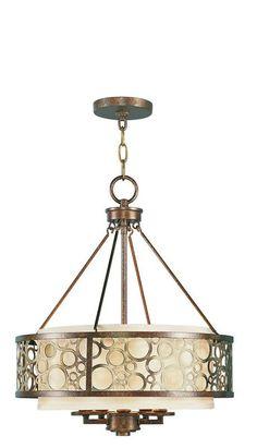 View the Livex Lighting 8675 Avalon 5 Light 1 Tier Chandelier at LightingDirect.com.