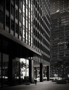Illinois Center. 1973. Chicago, Illinois. Ludwig Mies van der Rohe,  Photo Chris Schroeer-helermann