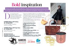 Shop products inspired by and featured in these stories from Woman & Home and Essentials magazines in our KAMERS Online Marketplace Bold Inspiration Collection. Essentials Magazine, R80, Artisan Food, Online Marketplace, Wine Recipes, Magazines, Inspired, Woman, Inspiration
