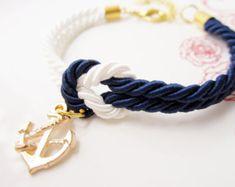 regalo de boda, regalos de novia, pulsera náutica, boda favores, atar una pulsera de nudo en boda de playa del Marina de guerra,  regalo increíble para usted y los amigos para day.simple especiales, menos pero con clase.  todos los elementos termina con broche de langosta y anillos para cierre y extensión de la cadena.  ♪♪♪♪♪♪♪♪♪♪♪♪♪♪♪♪♪♪♪♪♪♪♪♪♪♪♪♪♪♪♪♪♪♪♪♪  OFERTA ESPECIAL PARA UNA CANTIDAD A GRANEL!  El proceso de compra es sencillo: Poner los objetos elegidos en el carro Introduzca el…