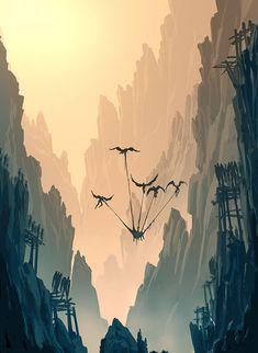 Moebius Journey by Raphael-Lacoste.deviantart.com on @deviantART