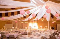 Pink and Gold sparkly Wedding!