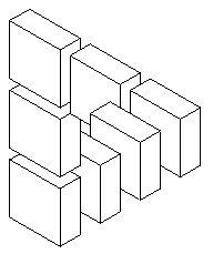 Черно-белые фигуры [631-640] - Невозможный мир