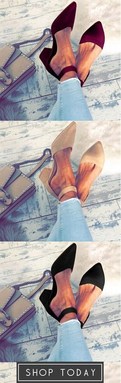 Casual Comfort Adjustable Buckle Shoes Casual Heels, Work Clothes, Clothes For Women, Retro Vintage, Fashion Shoes, Pumps, My Style, Work Outfits, How To Wear