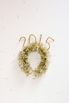 Simple DIY Tinsel Projects for New Year's Eve