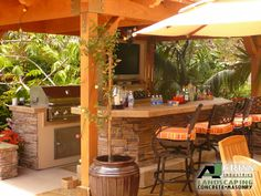 Outdoor Kitchens and Bars | Barbeques, Outdoor Kitchens, & Bars Gallery