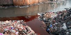 """How Fast Fashion Is Killing Rivers Worldwide - our rivers are abused so blatantly - & the precious resource is often terminally affected. The rivers become """"dead"""". the water hazardous, it attracts other people to dump their discards...... We as consumers, usually far-away, are instrumental in this result. We are part of the problem - we therefore, by implication, have to be part of the solution ! This cannot continue. This environmental abuse will escalate & ruin our future. Act now folks !"""