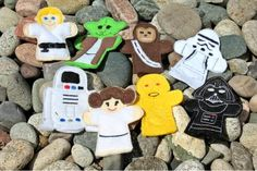 Star Wars Finger Puppets Set