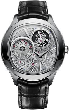 If thin is in, Piaget has gone absolutely anorexic (in a good way) for SIHH Setting new haute horlogerie records, Piaget's latest luxury watch for men, the Emperador Coussin Tourbillon … Source 82 Amazing Watches, Beautiful Watches, Cool Watches, Beautiful Men, Tourbillon Watch, Wear Watch, Skeleton Watches, Expensive Watches, Men Watches