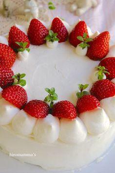 イチゴのショートケーキ/デザイン