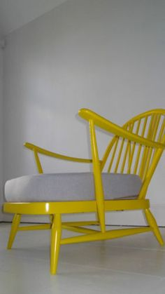 Now very much regretting getting rid of  my Gran's Ercol armchair. They look brilliant with a lick of paint.