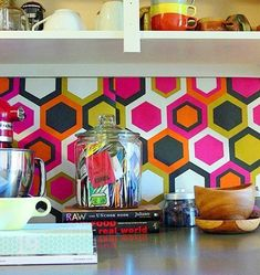 15 Ideas for Removable, DIY Kitchen Backsplashes Renters Solutions | Apartment Therapy