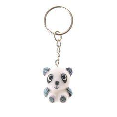 Fuzzy Panda Keyring