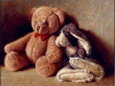 Jim Daly teddy bear painting