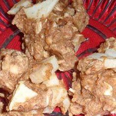 Apple Peanut Butter Oatmeal Cookies Allrecipes.com