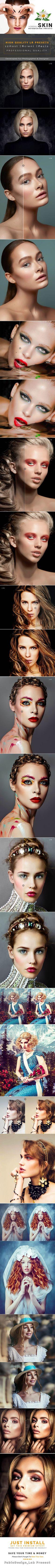 Incredible Skin Retouching Lightroom Preset #photoeffect