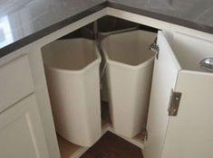 16 Ideas kitchen corner sink decor lazy susan for 2019 Corner Sink Kitchen, Custom Kitchen Cabinets, Diy Cabinets, Storage Cabinets, Diy Kitchen, Corner Cabinets, Custom Cabinetry, Space Kitchen, Kitchen Decor