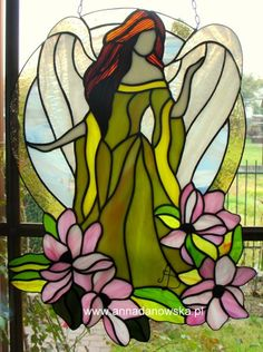 The Four Seasons - SPRING ANGEL with magnolias